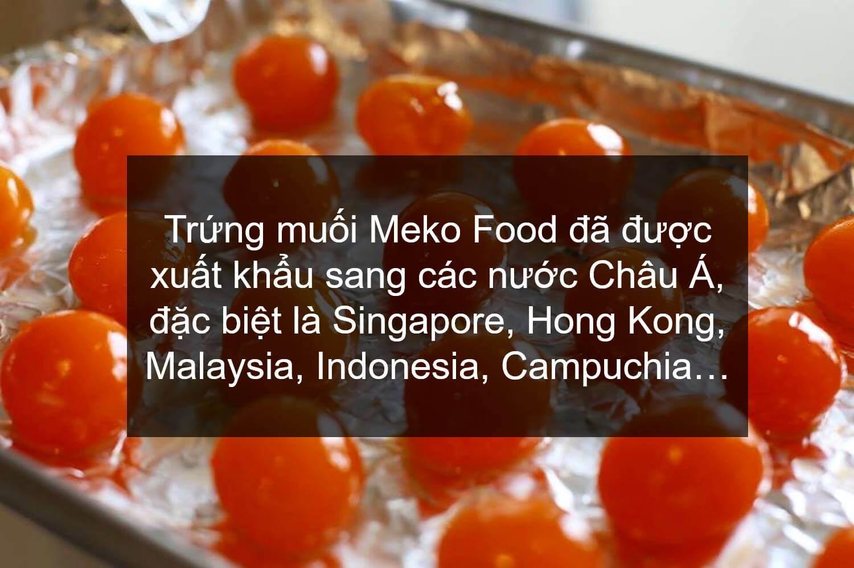 Trứng muối Meko